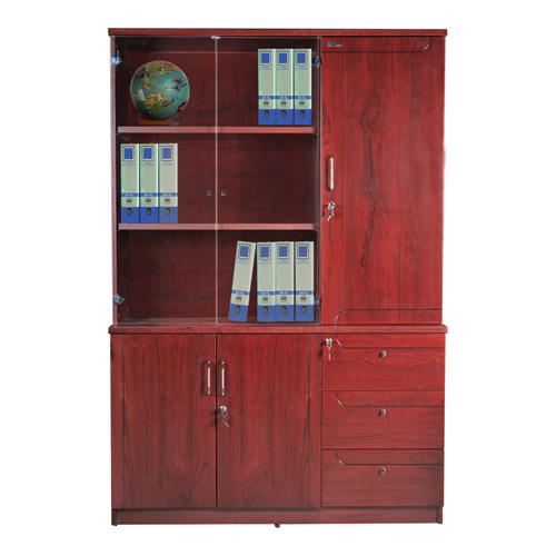 Tủ gỗ PU Hòa Phát DC1350H1