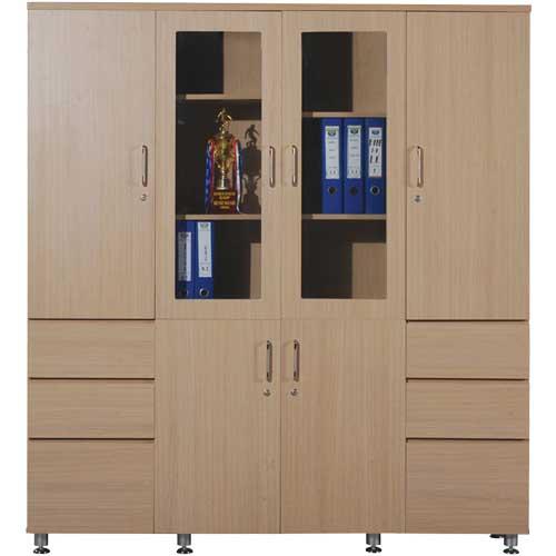 Tủ gỗ đựng tài liệu HR1960-4B