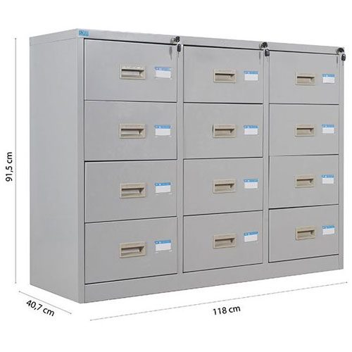 Tủ sắt hồ sơ TU118-12D
