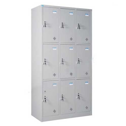 Tủ sắt locker 9 ngăn TU983-3K