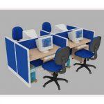 Vách ngăn văn phòng giá rẻ tại TP.HCM