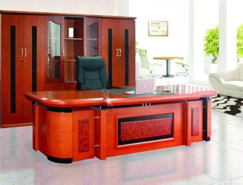 Bộ bàn tủ giám đốc DT3212VM7