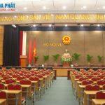 Thiết kế, lắp đặt nội thất cho Bộ Nội vụ