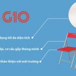 Ghế gấp G10 – phong cách lịch lãm đậm nét người Italia