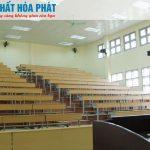 Nội thất Hòa Phát thiết kế nội thất giảng đường Đại học Hải Phòng