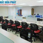 Nội thất văn phòng Ngân hàng Hàng hải Maritime Bank