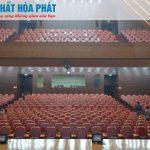 Nội thất Hòa Phát vinh hạnh được trang bị nội thất Nhà văn hóa Kaysone Phomvihane Lào