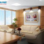 Thiết kế nội thất văn phòng ống thép Hòa Phát