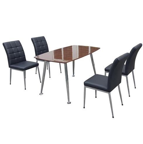 Bộ bàn ghế ăn veneer cao cấp B68 G68