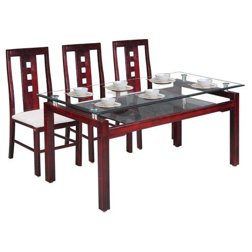Bộ bàn ghế phòng ăn cao cấp TB09, TGA24
