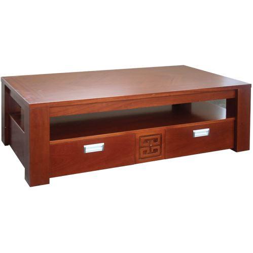 Bàn sofa mặt gỗ liền cao cấp BSF64V