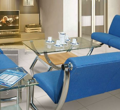 Bàn sofa mặt kính cao cấp BSF81