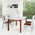 Những mẫu bàn ghế gỗ đẹp tại phòng ăn của Hòa Phát