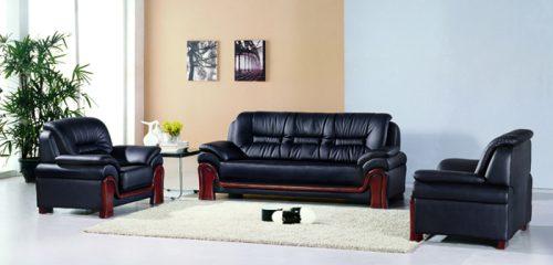 Bộ ghế sofa bọc da cao cấp SF03