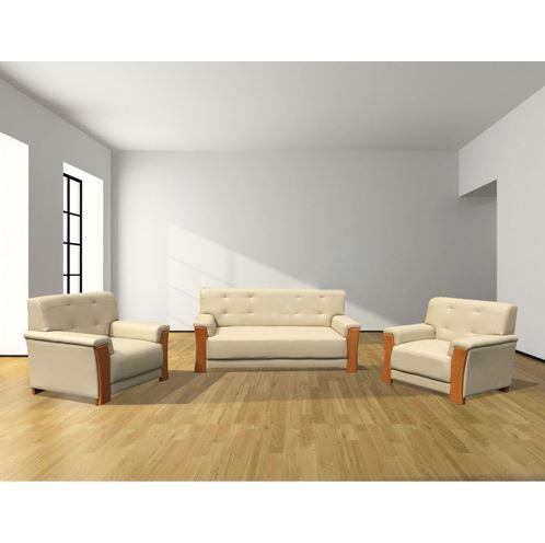 Bộ ghế sofa cao cấp bọc da SF33
