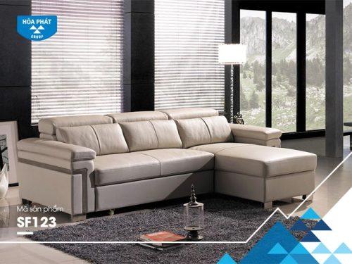 Bộ ghế sofa cao cấp Hòa Phát SF123