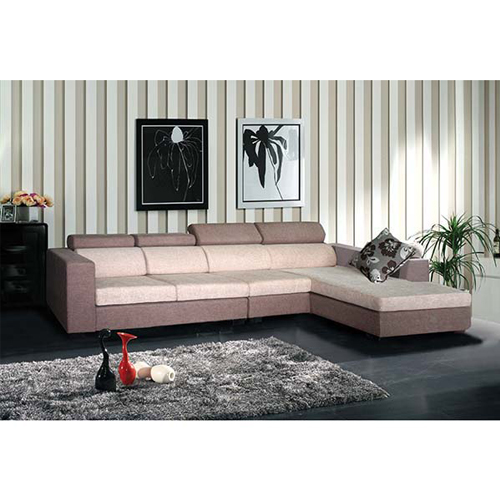 Bộ ghế sofa góc bọc vải nỉ SF42