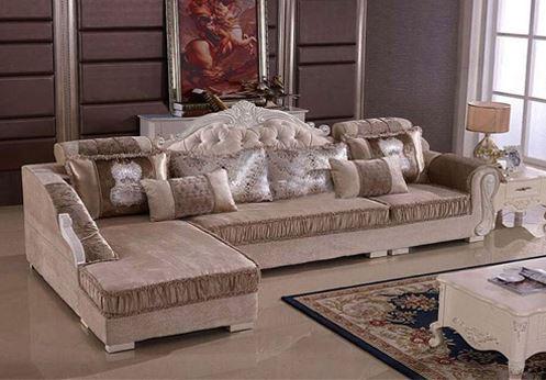 Bộ ghế sofa góc cao cấp SF50
