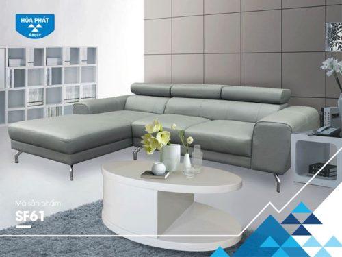 Bộ ghế sofa góc cao cấp SF61
