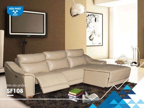 Bộ ghế sofa góc cao cấp SF108A