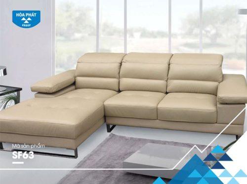 Bộ ghế sofa góc Hòa Phát SF63