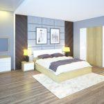 Thiết kế phòng ngủ hợp lý với nội thất Hòa Phát