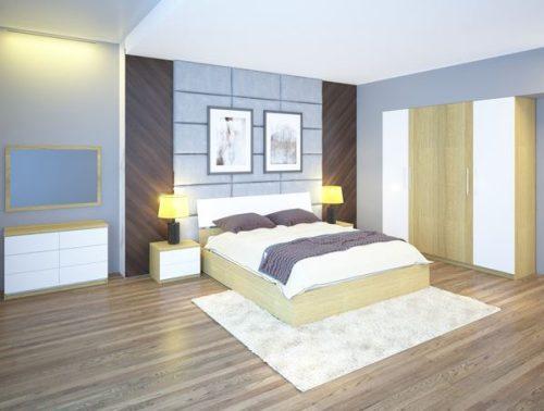 Bộ giường tủ phòng ngủ Hòa Phát 301
