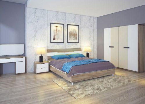 Bộ giường tủ phòng ngủ Hòa Phát 303