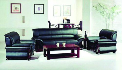 Bộ ghế sofa bọc da cao cấp SF02