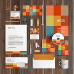Thiết kế đồng bộ thiết kế bộ nhận diện văn phòng trong công ty