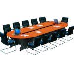 Báo giá bàn ghế phòng họp có kích thước dành cho 10 người