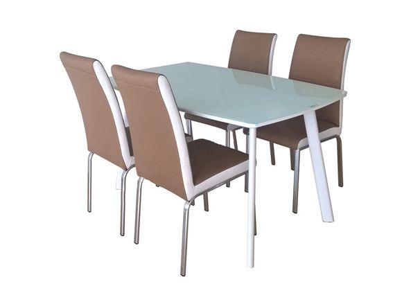 Bàn ghế ăn khung thép Hòa Phát B60