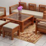 Kinh nghiệm mua bàn ghế gỗ đẹp cho không gian phòng khách