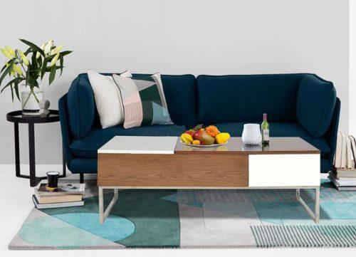 Bàn sofa cao cấp khung inox BSF15