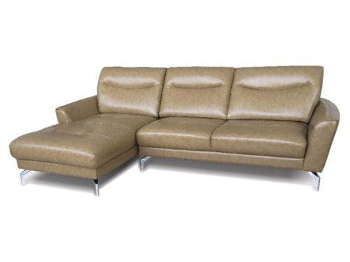 Bộ ghế sofa góc bọc da SF66A