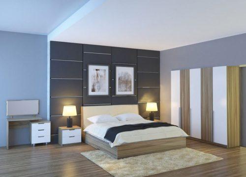 Bộ giường tủ phòng ngủ Hòa Phát 304
