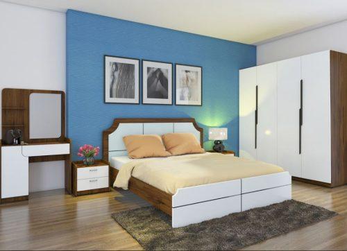 Bộ giường tủ phòng ngủ Hòa Phát 305