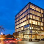 Mẫu thiết kế tòa nhà văn phòng bằng gỗ lớn nhất hiện nay
