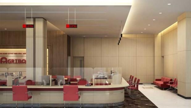 thiết kế văn phòng giao dịch 2