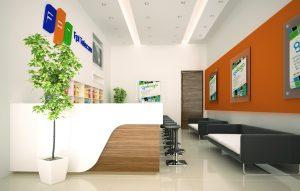 thiết kế văn phòng giao dịch 1