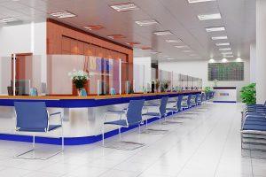 thiết kế văn phòng giao dịch 3