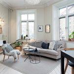 Thiết kế phòng khách đẹp với nội thất đơn giản