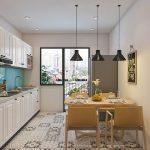 Cách lựa chọn nội thất cho phòng bếp căn hộ chung cư hiện đại, tiện nghi cùng Nội thất Hòa Phát