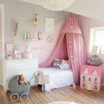 Cách thiết kế nội thất phòng bé gái siêu dễ thương