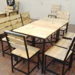 Đóng bàn ghế bằng gỗ pallet – xu hướng thiết kế nội thất năm 2018
