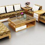 Hướng dẫn lựa chọn bàn ghế sofa gỗ cho phòng khách hiện đại
