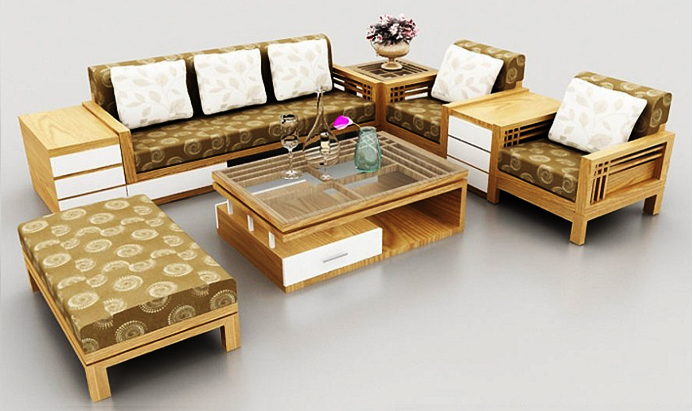 Hướng Dẫn Lựa Chọn Ban Ghế Sofa Gỗ Cho Phong Khach Hiện đại