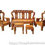 Xu hướng thiết kế bàn ghế gỗ phòng khách 2018