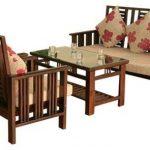 Những bộ bàn ghế gỗ phòng khách dưới 10 triệu đẹp nhất của nội thất Hòa Phát