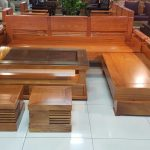 Các mẫu bàn ghế gỗ hương đẹp 2019